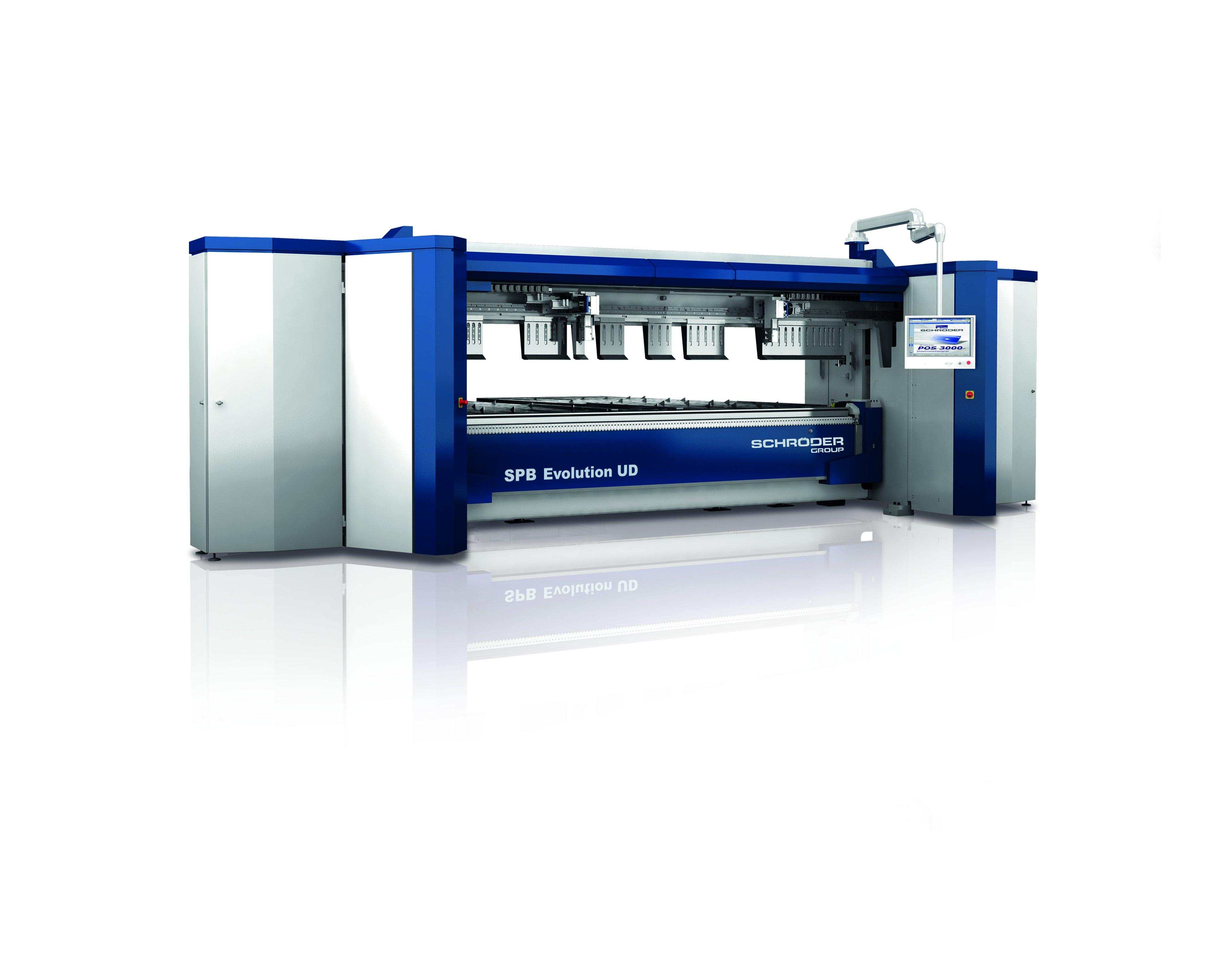 SPB EVOLUTION UD Folding Machine