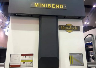 Deratech Minibend CMTS Sheetmetal Machines