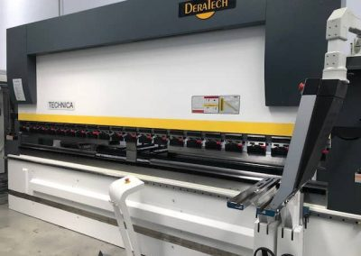 Deratech Technica Hydraulic Press Brake CMTS Sheetmetal Machines
