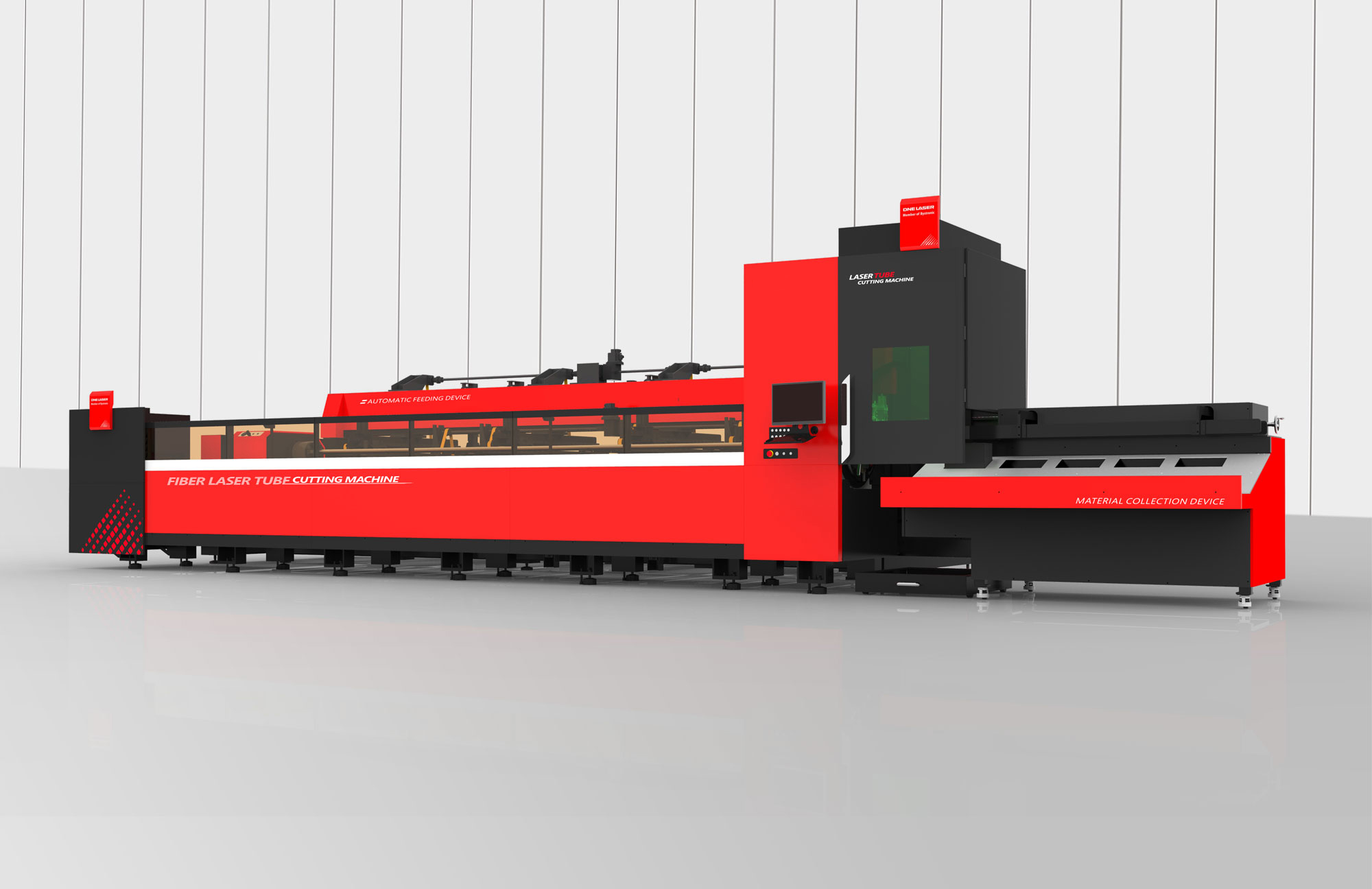 Tube Cutting Machine with full automatic loading and unloading system