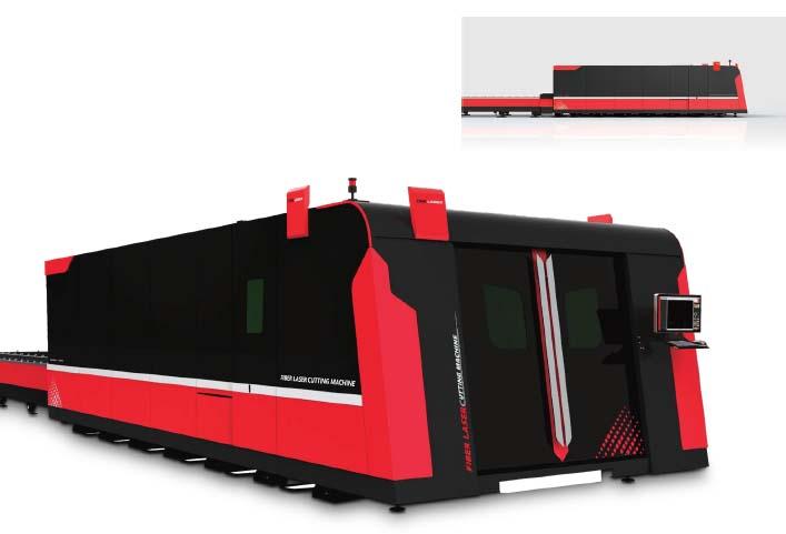 D-SOAR Fiber Laser Cutting Machine