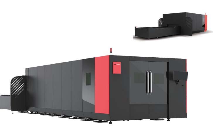 D-SOLAR Fiber Laser Cutting Machine