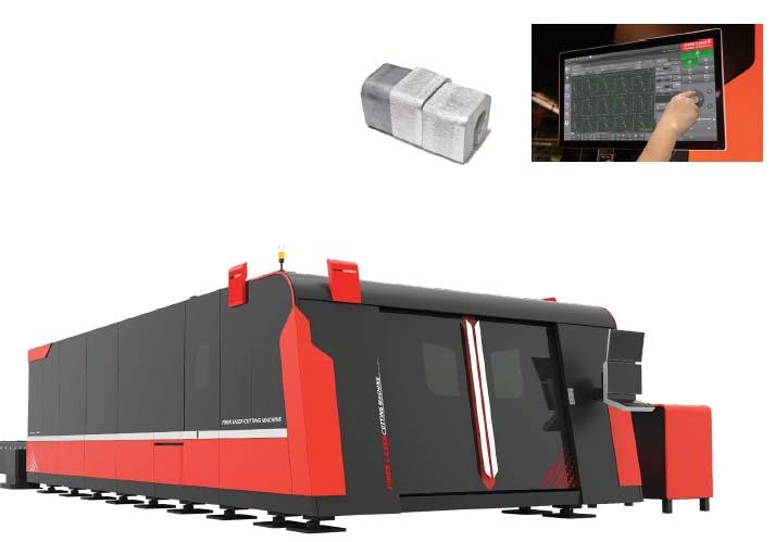 D-SOAR Plus Fiber Laser Cutting Machine